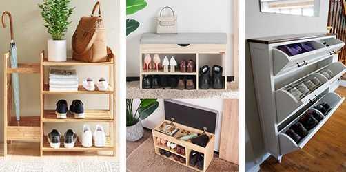 低預算軟裝 - 木質調、白色可遮蔽鞋櫃最收歡迎