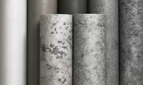 ▲也可以用藝術壁紙製造出工業風的效果!